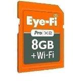 Eye-Fiカード「Eye-Fi Pro X2 8GB」を頂いたのでセッティングしてみた