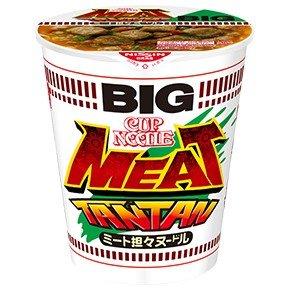 日清 カップヌードル 「ミート担々ヌードル BIG」  を食べたぞ!