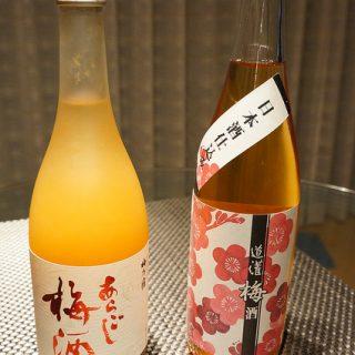 太田酒造の「道灌 梅酒 日本酒仕込み」と梅乃宿の「あらごし梅酒」を飲み比べてみた!