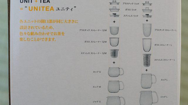 「柴田文江」デザインの組み合わせ自由なティーウェア「UNITEA」を買ったぞ!