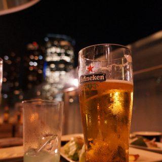 六本木ヒルズをテラスから眺めながら酒を飲める、麻布十番「KAI」に行ってきたぞ!