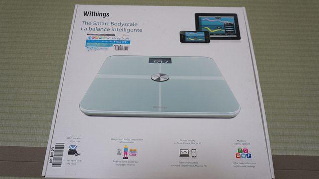 Wifi対応の体重計「Wifi Body Scale WBS01」ホワイトモデルを買ったぞ!
