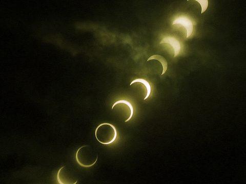 【速報】金環日食をNEX-5Nで撮影したぞ!