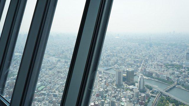 東京スカイツリーの展望デッキと展望回廊に行ってきた!【後編】