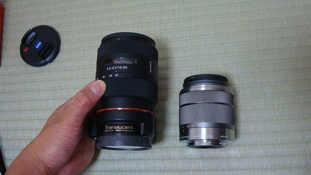 【速報】ついにNEX-5N用に念願のAマウントレンズ「SAL1680Z」を購入したぞ!