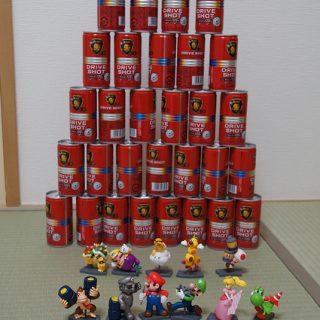サントリーBOSSを32缶買って「マリオカート7のフィギュア」をコンプリートしたぞ!