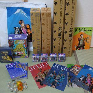 JOJO展で、気がつくと約4万円以上のグッズを購入していたんだぜ・・・!?