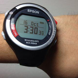 EPSONのGPS機能付きランニングウォッチ「Wristable GPS SS-700S」1ヶ月体験レポート!
