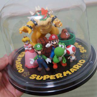 クラブニンテンドーのポイントでもらえる「スーパーマリオキャラクターズフィギュア」をもらったぞ!