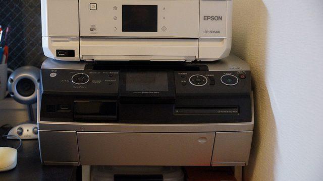 EPSONカラリオ EP-805Aの小ささに感激!6年前のプリンターPM-A970と置き換えてみたぞ!