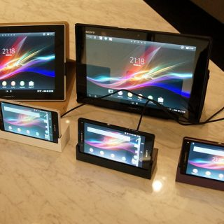 docomoから発表されたばかりのSONYのXperia ZとXperia Tablet Zを触りまくってきたぞ!