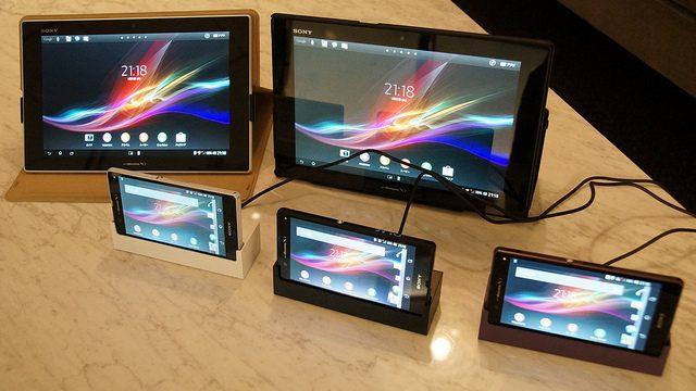 docomoから発表されたばかりのSONYのXperia ZとXperia Tablet Zを触りまくってきたぞ!
