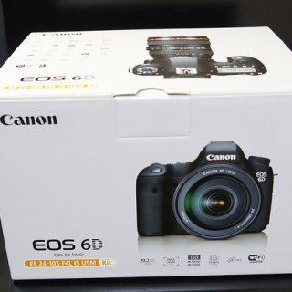 Canonのデジタル一眼レフ「EOS 6D」購入!開封の儀を行ったぞ!