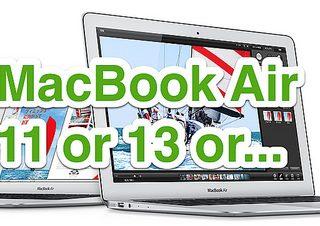 MacbookAirは11インチか13インチかを検討してたらMacbookProRetina Late2013という選択肢にたどり着いたぞ!?
