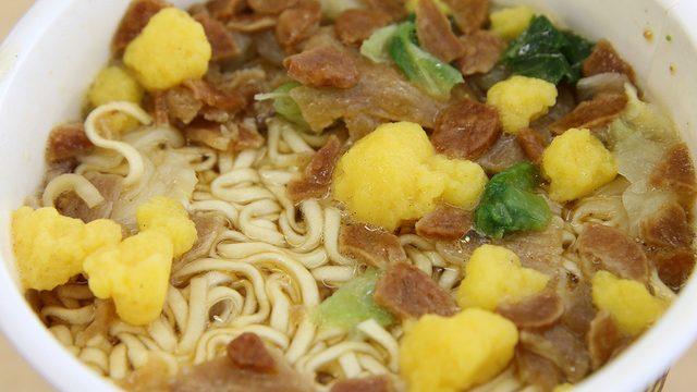 【新商品】カップヌードル ガーリックカルビ ビッグ(にんにく醤油豚カルビ味)を食べたぞ!