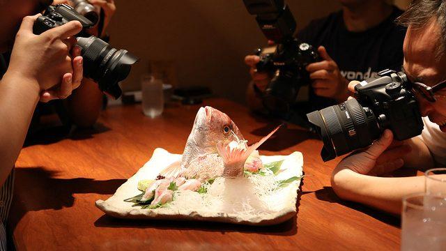 築地「千秋はなれ」で魚料理を堪能しつつAdobe Lightroom5について教えてもらえるイベントに参加してきたぞ!