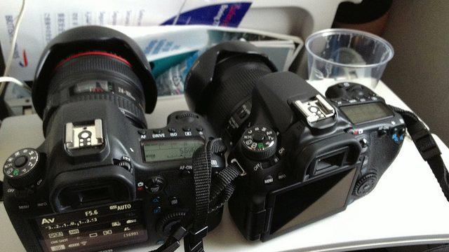 EOS70DとEOS6Dの2台持ちでロンドンに来てみたぞ!