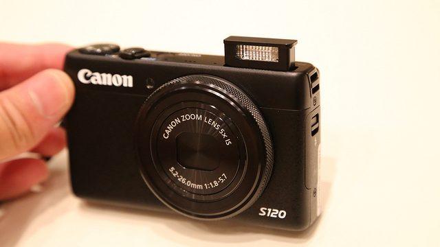 【高機能すぎ!】最新コンデジ「Canon PowerShotS120」7つの特徴を教えるぞ!