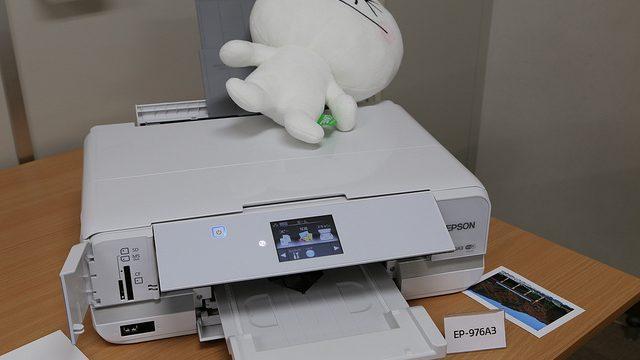 A3印刷可能でこの大きさ!?EPSONカラリオプリンター最上位機種「EP-976A3」体験イベントに行ってきたぞ! #カラリオ