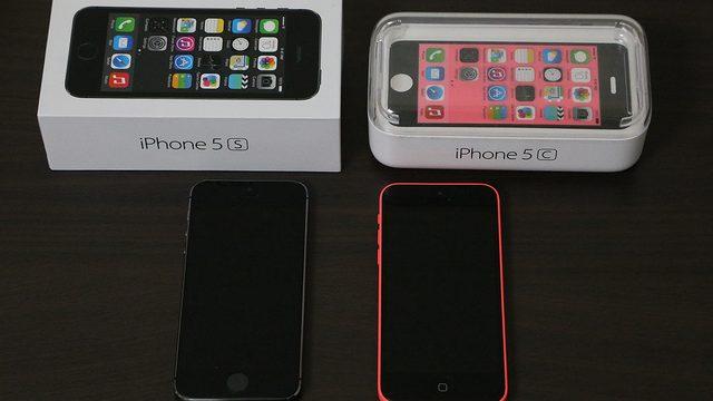 iPhone5sと5c開封の儀!写真で2つを比較してみたぞ!