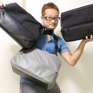 【新旧比較】あたらしい「ひらくPCバッグ」開封の儀!新旧のひらくPCバッグと徹底比較したぞ! #hiraP