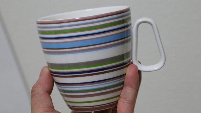 オフィス用マグカップにおしゃれなiittala製の「イッタラ オリゴ マグカップ」を購入したぞ!