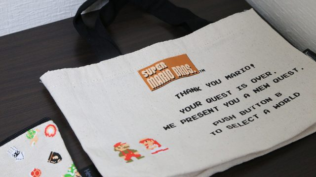 600円でスーパーマリオのトートバッグが付録の雑誌「mini 12月号」を買ってみたぞ!