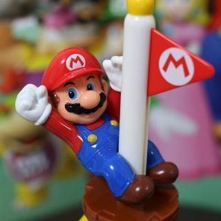 【写真で紹介!】マクドナルドのハッピーセットにマリオのフィギュアが付いてくるので4種コンプリートしてきたぞ!