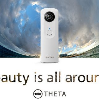 「RICOH THETA(リコー・シータ)」という1シャッターで360度全ての写真が撮れるカメラが欲しくなってきたぞ!