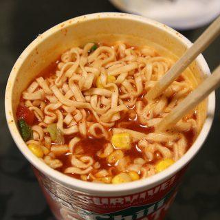 【新商品】カップヌードルレッドチリトマトヌードルを食べてみたぞ!
