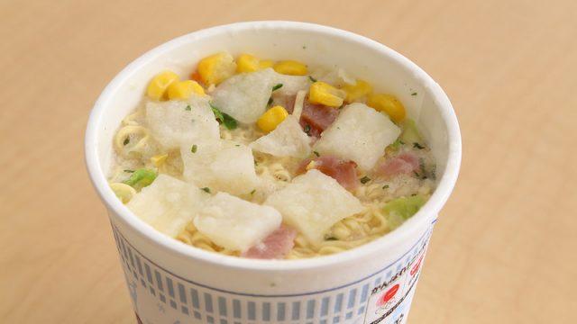 【新商品】カップヌードルホワイトシチューがベーコンと相性抜群で美味かったぞ!