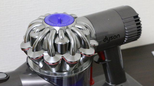 ダイソンのハンディ掃除機「DC61」開封の儀!想像以上に小さくカッコいいぞ! #dysonjp