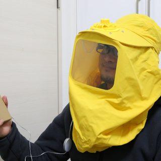 【花粉症対策】何ぞこれwwwすっぽりかぶるUSB花粉ブロッカーを買ってみたぞ!