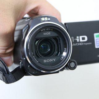 レンズがグリグリ動く!空間光学手ブレ補正搭載SONYのハンディカムCX630Vを買ったぞ!