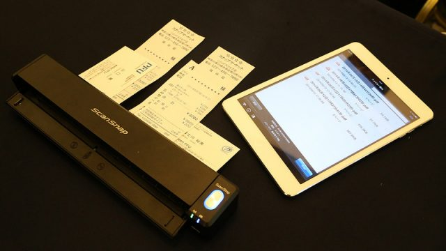未来が1歩近づいた!ScanSnap新商品の「iX100」は、究極のモバイルスキャナだぞ!