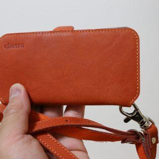 カワイイ斜め掛けできるiPhoneケース「cheero Leather Case」が良い感じだぞ!