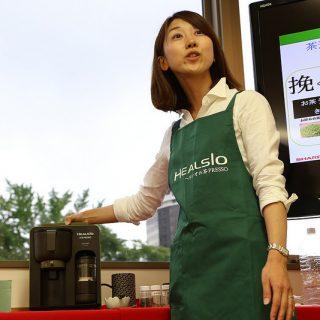 【第2弾!】今話題の、シャープ「お茶プレッソ」イベントに行って来たぞ!(お茶プレッソ説明編)