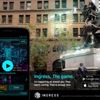 最近「Ingress(イングレス)」というスマホゲームにドハマりしてるぞ!