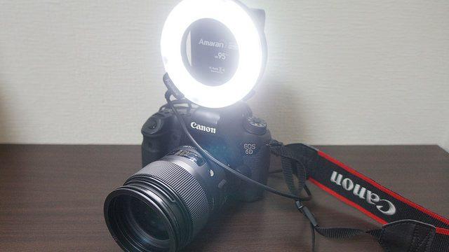 【激安!】5000円台で買えるLED100灯のリングライトが良い感じだぞ!
