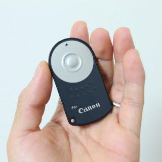【激安!】CanonのEOS用互換リモコンが安くて便利でメチャ良いぞ!