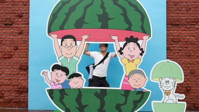 サザエさんだらけの街、「長谷川町子美術館」のある桜新町をブラリ散歩してきたぞ!