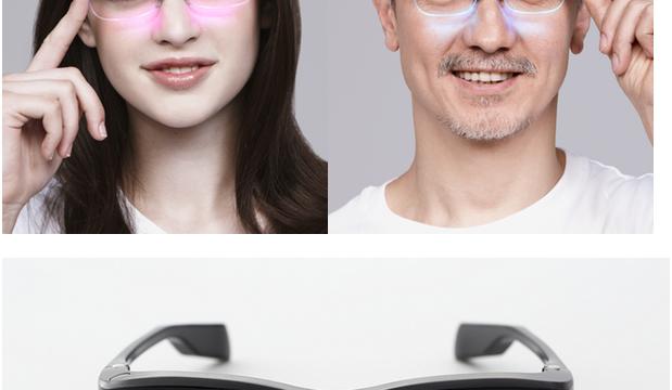 これぞ未来のメガネ!iPhoneと連携して光ったり音を鳴らす「雰囲気メガネ」がすごいぞ!