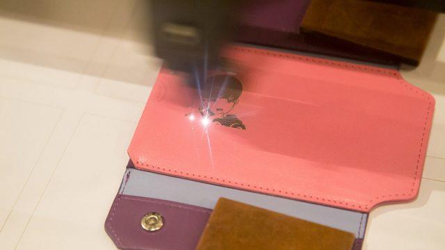 【渋谷】FabCafeでレーザーカッターで革製品に刻印!スゴさを体験して来たぞ!