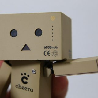 メチャ可愛い!Cheero「REVOLTECH DANBOARD mini cheero ver.」が発売されたぞ!