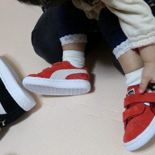 親子でPUMAのスニーカーをお揃いにする幸せ!PUMAの子供用シューズはベビーサイズからあるぞ!