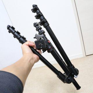 【機内持込可!】縮長40cmのトラベル三脚!Manfrotto製コンパクト三脚 Befree「MKBFRA4-BH」を買ったぞ!