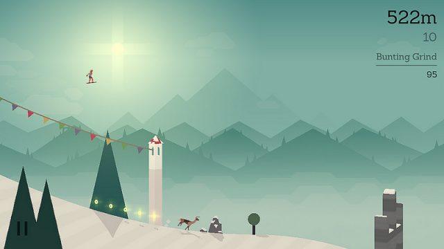 美しいグラフィックと軽快な動作で、気が付いたら長時間プレイしちゃうiPhoneゲーム「Alto's Adventure」が楽しいぞ!