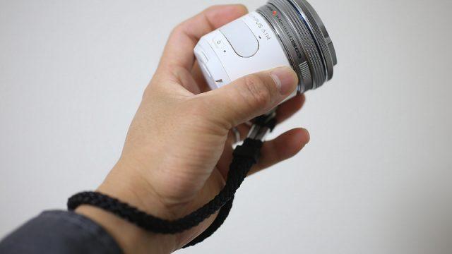 OLYMPUS AIR A01用にシンプルなハンドストラップを購入したぞ!