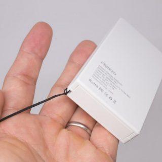 【新発売!】cheeroのメチャ小さくてシンプルなモバイルバッテリー「cheero CANVAS 3200mAh」がいいぞ!