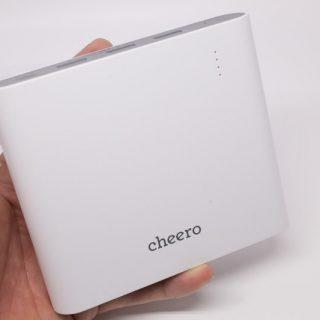 【新発売!】cheeroの超大容量モバイルバッテリー!Power Plus 3 Premium 20100mAhの安心感はスゴイぞ!